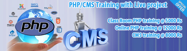PHP / Joomla / Drupal /Wordpress Training