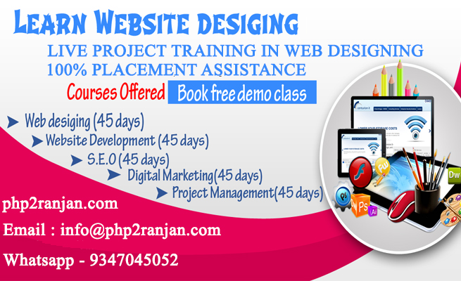 Web Designing Training In Hyderabad Web Designing Training With Placement Assistance Web Designing Course Training In Hyderabad Web Designing Training Institutes In Hyderabad Web Design Training Centers In
